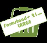 LARGE FARMSTAND SEASON 'PLUS'
